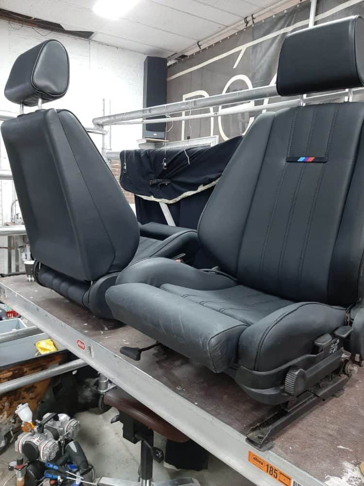 herstel, bmw, E30, stoelen, interieur
