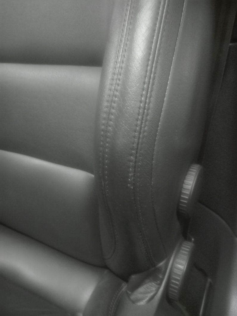 Stoel auto herstel schade nieuw repareren