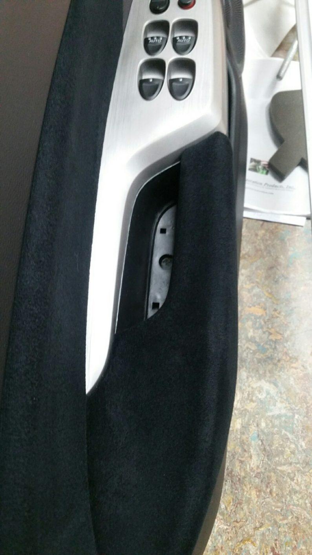 deurgreep interieur auto herstellen vies