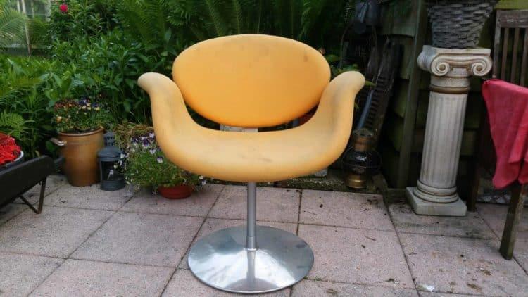 stoel, uniek, design, stof, opknappen